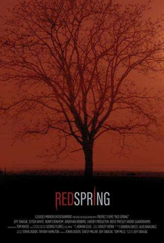 Red Spring Poster