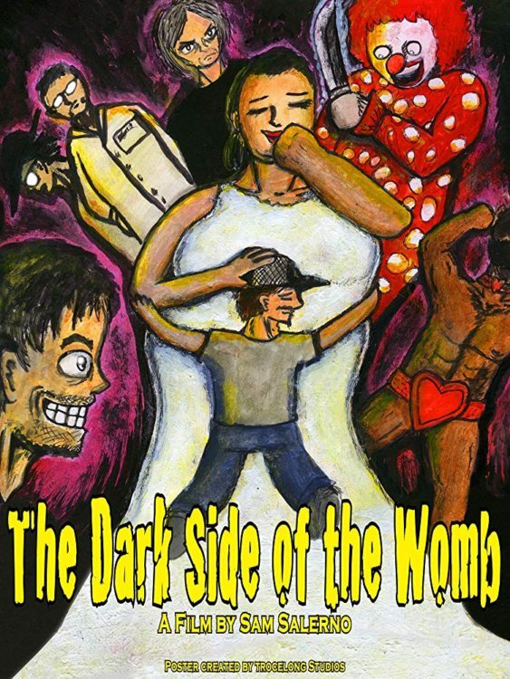 Dark Side of the Womb Poster