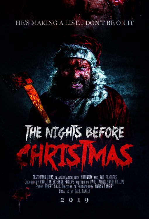 The Nights Before Christmas Poster