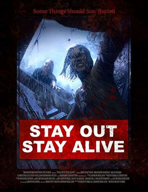 Stay Out Stay Alive Poster