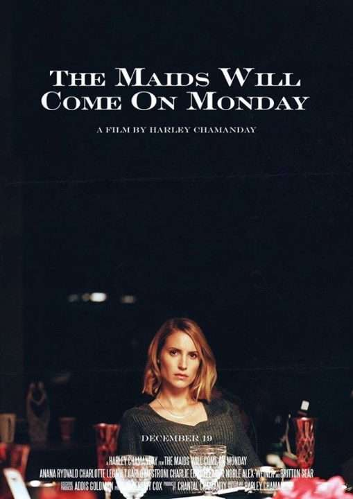 THE MAIDS WILL COME ON MONDAY Poster