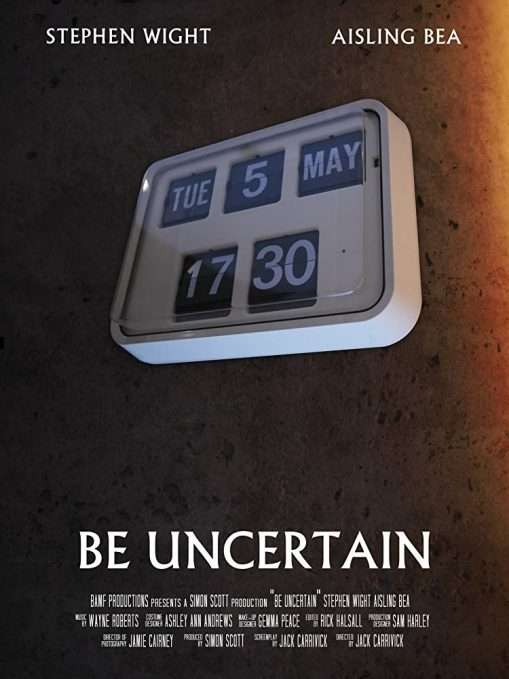 Be Uncertain Poster