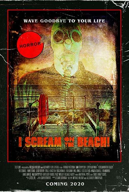 I Scream On The Beach Poster