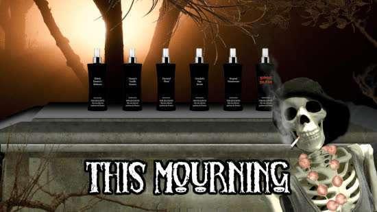 This Mourning skeleton