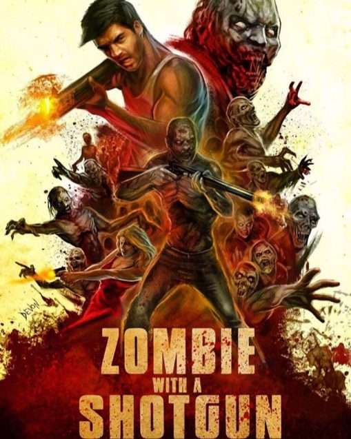 Zombie With A Shotgun Poster 2