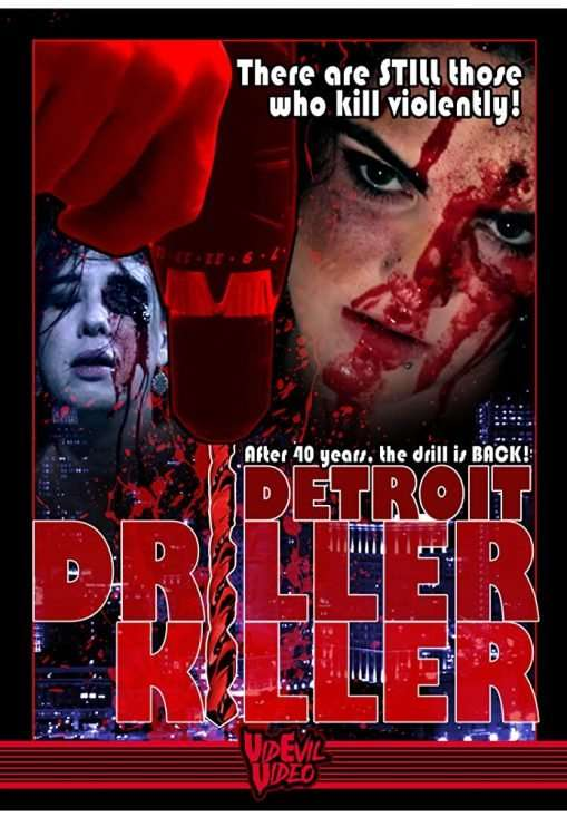 Detroit Driller Killer Poster
