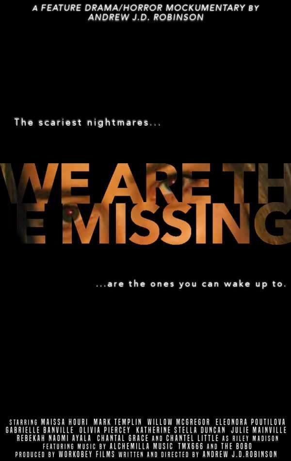We Are The Missing Poster