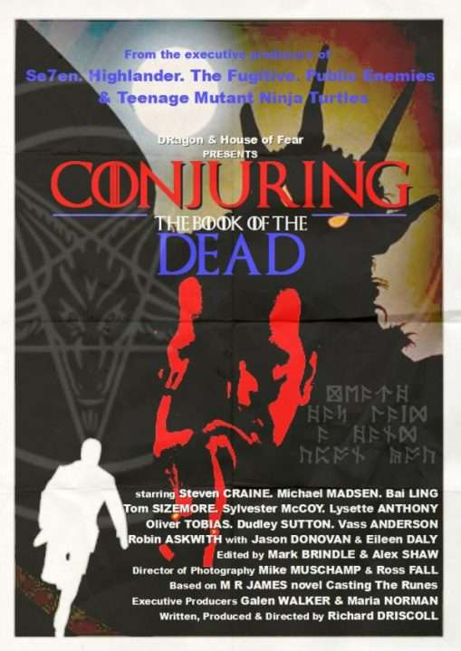 Conjuring The Book of the Dead Poster