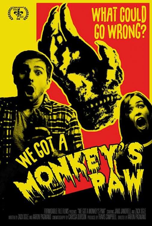 We Got A Monkey's Paw Poster