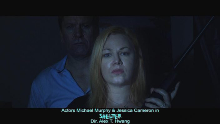 Michael Murphy and Jessica Cameron in Shelter