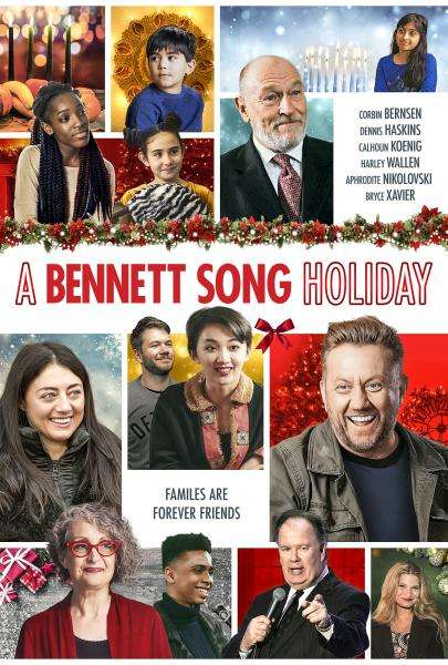 A Bennet Song Holiday Poster