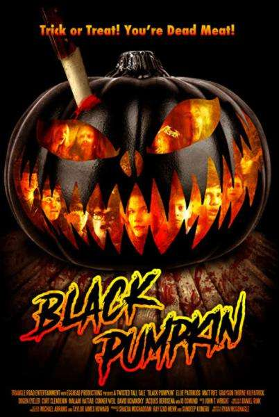 Black Pumpkin Poster 1