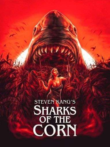 Sharks of the Corn Poster