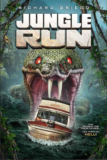 Jungle Run Poster