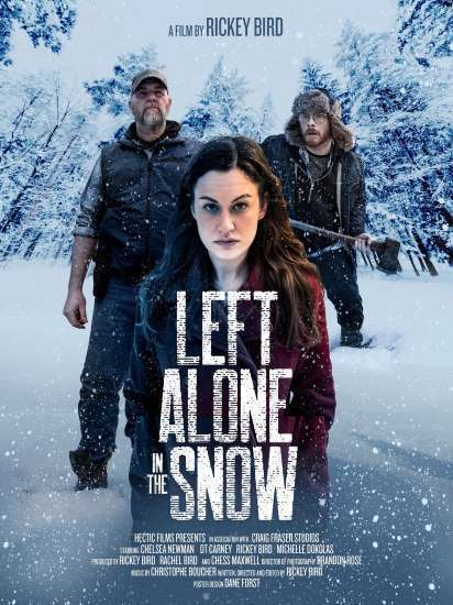 Left Alone in the Snow Poster