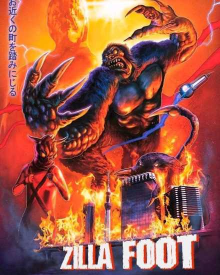 ZillaFoot Poster