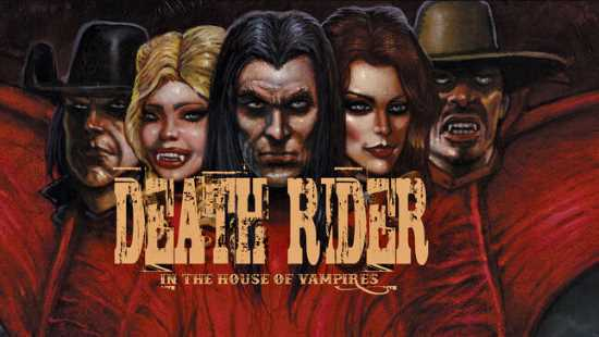 Death Rider in the House of Vampires Art