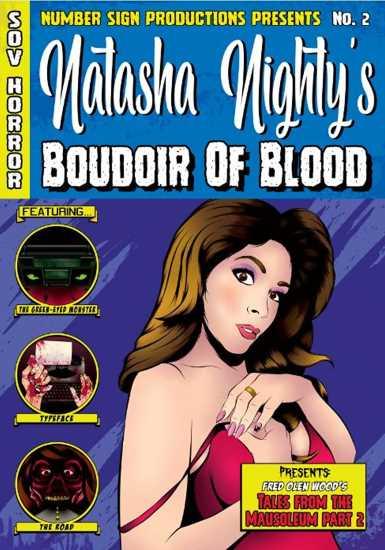Natasha Nighty's Boudoir of Blood Poster