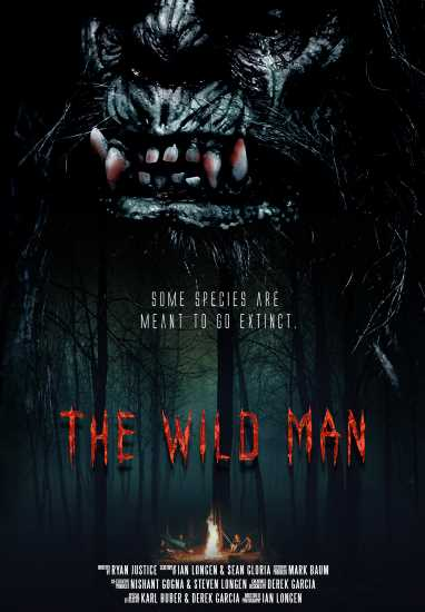 The Wild Man Skunk Ape Poster