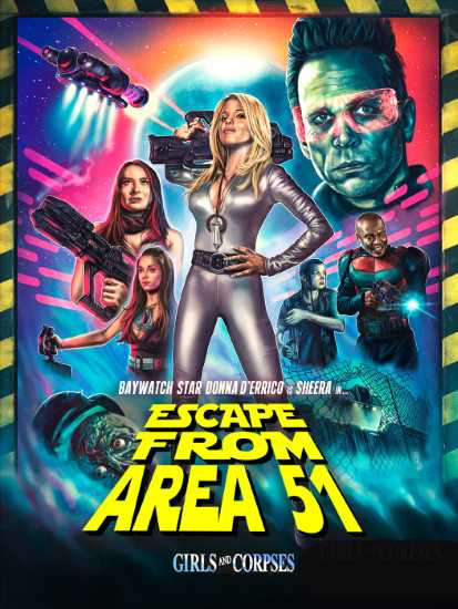 Escape from Area 51 Poster