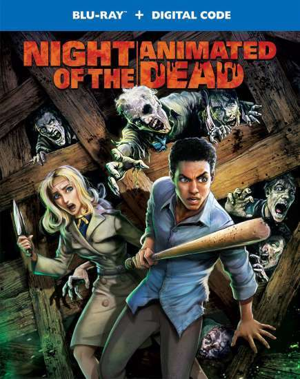 Night of the Animated Dead Poster