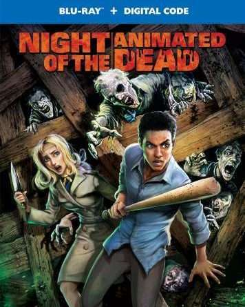 Night of the Animated Dead Poster Small