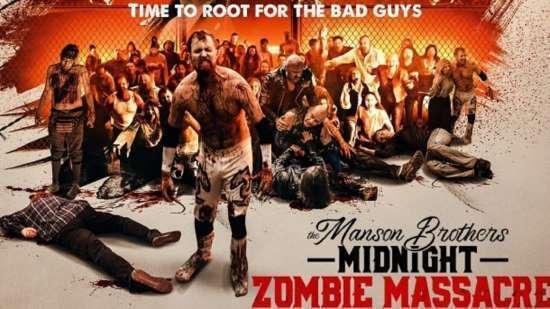 The Manson Brothers Midnight Zombie Massacre Art 2