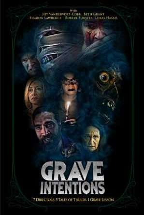 GRAVE INTENTIONS Poster Small