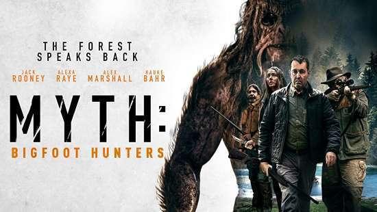 Myth Bigfoot Hunters Art