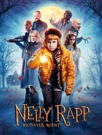 Nelly Rapp Monster Agent Poster Small